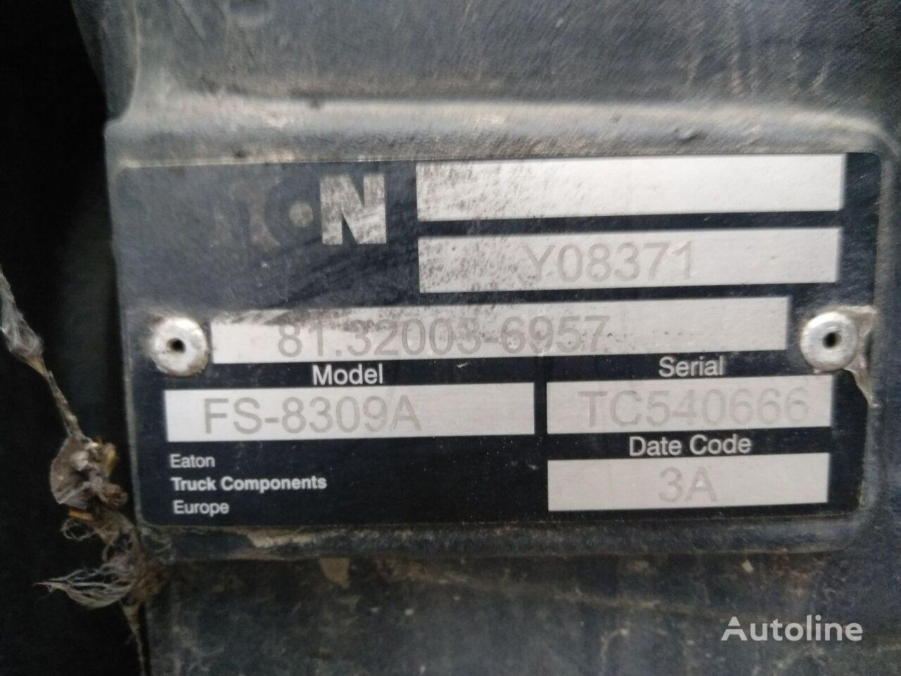 EATON korobka peredach FS-8309A caja de cambios para MAN TGL 12.240 8.240  camión