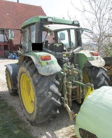 JOHN DEERE caja de cambios para JOHN DEERE UNIVERSALTYP TMA 6400 M tractor