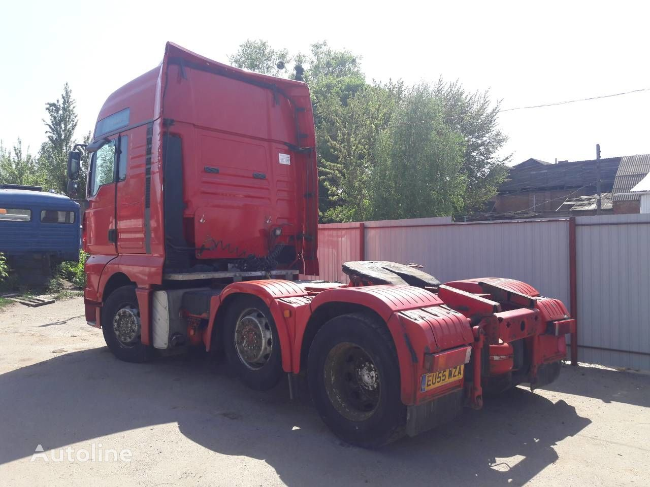 MAN 12AS2301OD caja de cambios para MAN TGA tractora