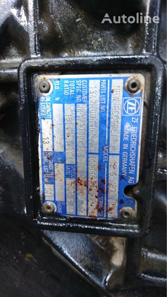 ZF 16S1920TD caja de cambios para MAN camión
