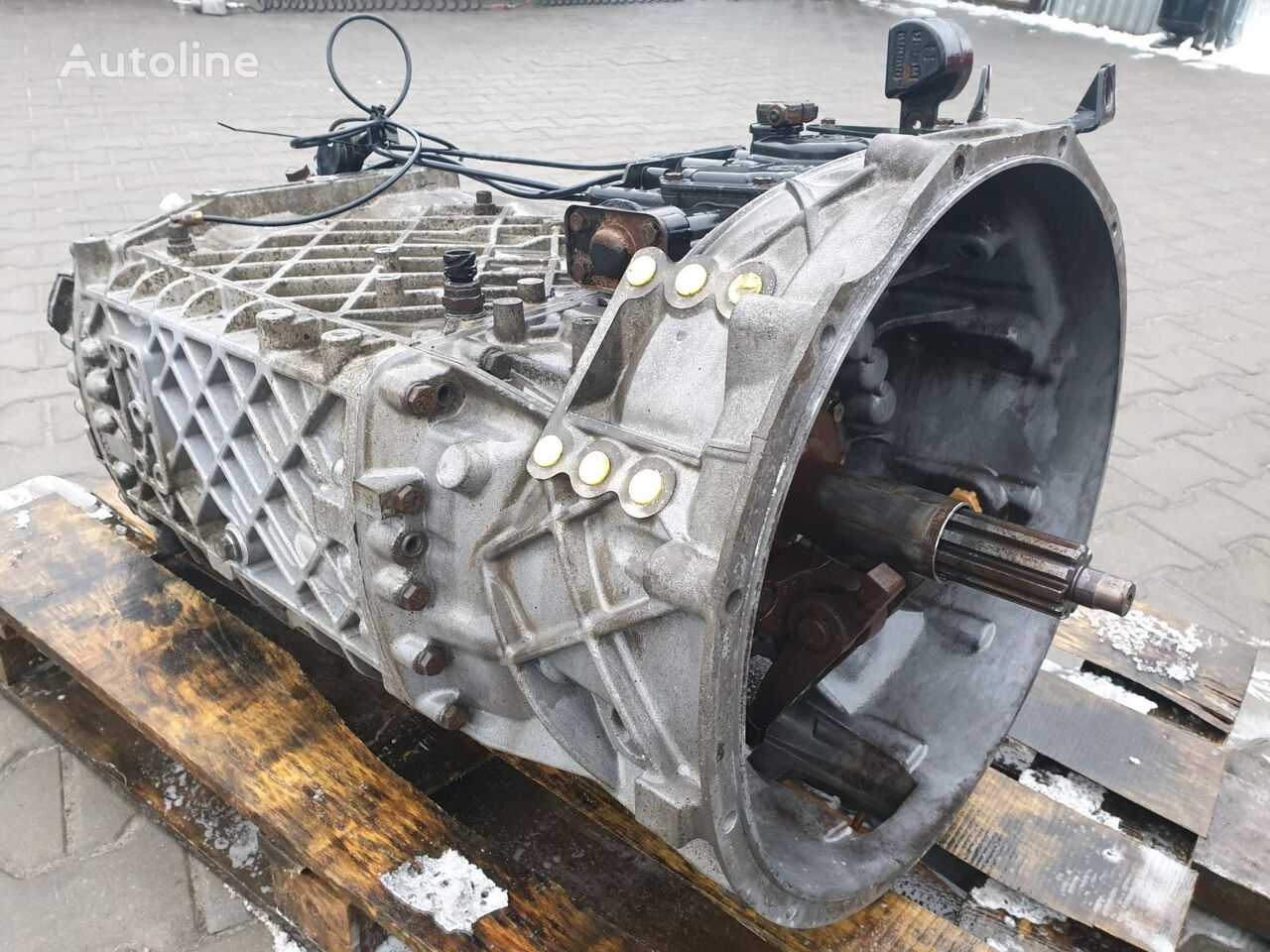 ZF 16S2320TD caja de cambios para MAN TGA TGS TGX camión