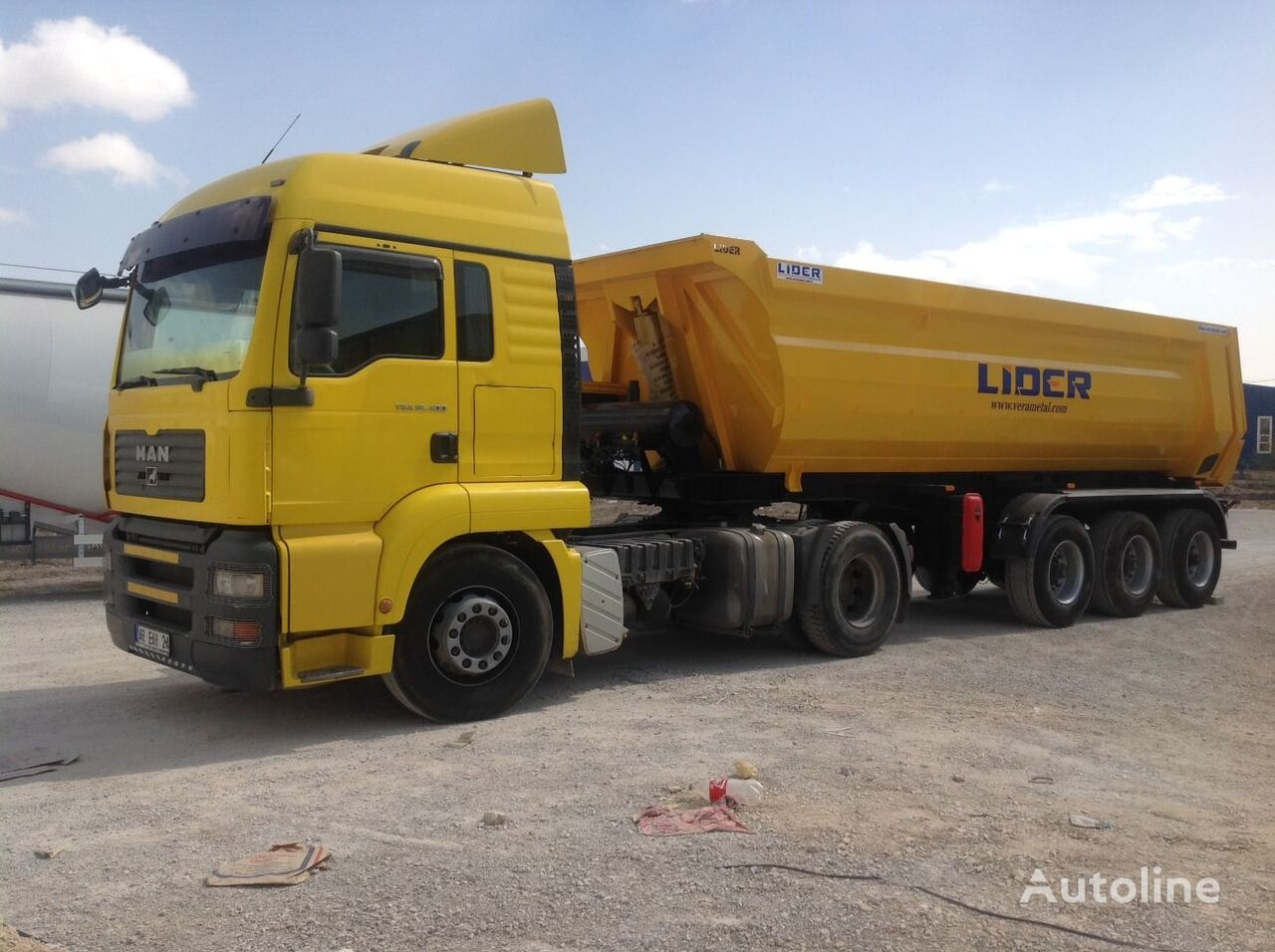 LIDER 2020 NEW DIRECTLY FROM MANUFACTURER COMPANY AVAILABLE IN STOCK semirremolque volquete nuevo