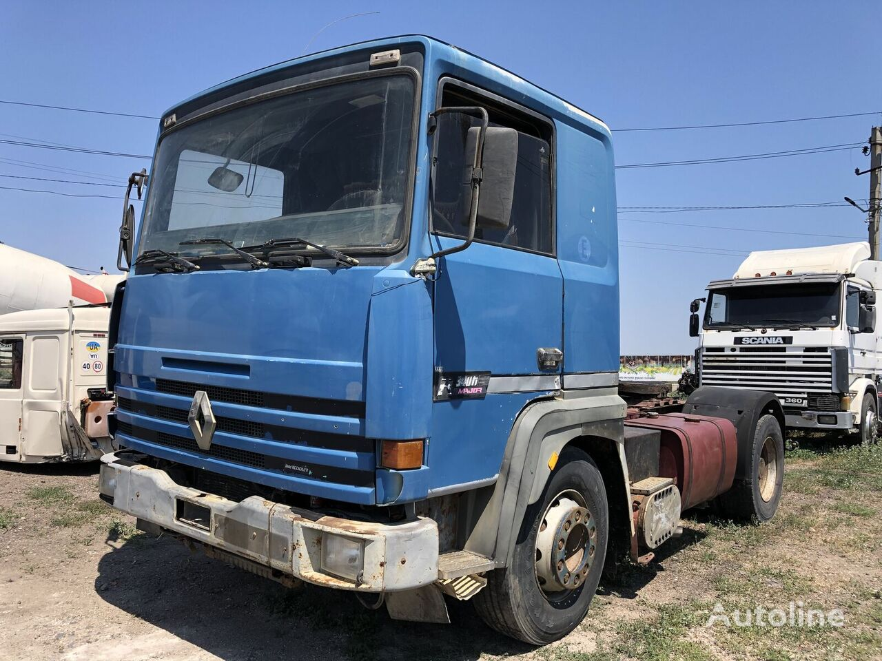 RENAULT Major 340 tractora