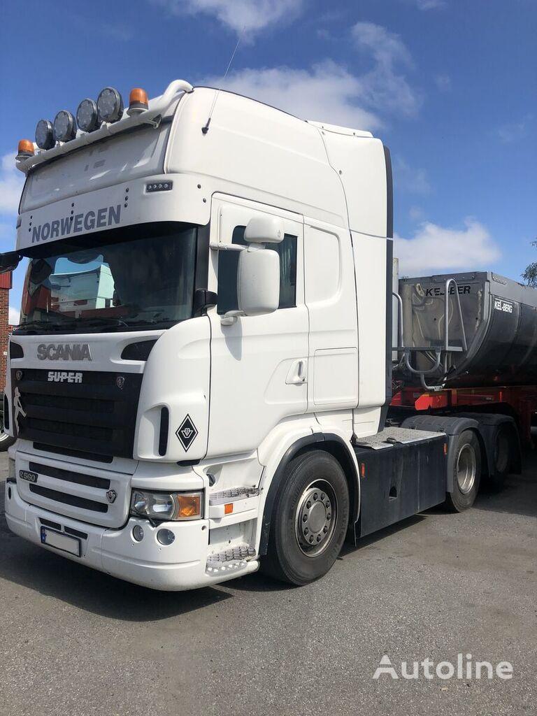 SCANIA R560 6x2 , retarder, hydraulics tractora
